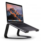 Twelve South Curve for MacBook, matte black | desktop stand for Apple notebooks