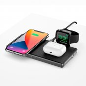ALOGIC Ultra Power 4-in-1 Wireless Charging Dock for Apple Watch, Airpods and iPhone with USB-A Charging Output