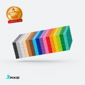 PIXIO 800 Magnetic Blocks in 16 Colours + Free App