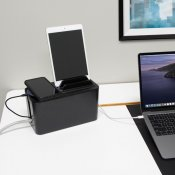 Bluelounge CableBox mini Station - Black
