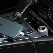 Just Mobile Highway Turbo w. USB-C to Lightning cable