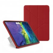 "Pipetto iPad Pro 2020 11"" TPU Origami Case - Red"