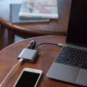 Kanex USB-C multimedia laddningsadapter