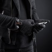 Mujjo Double-Layered Touchscreen Gloves - Extra varma pekskärmsvantar!