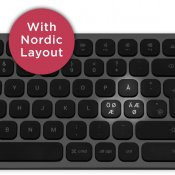 Satechi Keyboard with USB connection - Nordic Layout