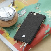 Just Mobile Quattro Back - Exquisite Leather Case for iPhone 6s