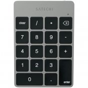 Satechi Slim Wireless Keypad - Rechargeable Aluminum Bluetooth Keypad