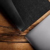 "Mujjo Sleeve 13""- Premium sleeve for New MacBook Pro 13"" with details of genuine leather"