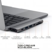 Satechi USB-C PRO Hub with 4K HDMI 85W