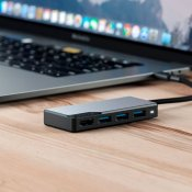 ALOGIC USB-C Fusion CORE 5 in 1 HDMI & USB Hub – Space Gre – Space Grey