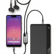 ALOGIC Ultra USB-C to USB-C female and audio output 15 cm