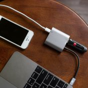 Kanex USB-C VGA adapter med USB-C power pass through