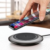 Baseus Whirlwind Wireless Quick Charger for Smartphones with QI