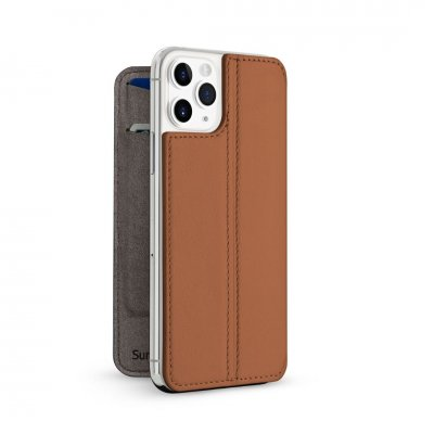 Twelve South SurfacePad för iPhone 11 Pro – Rakbladstunt nappaläder