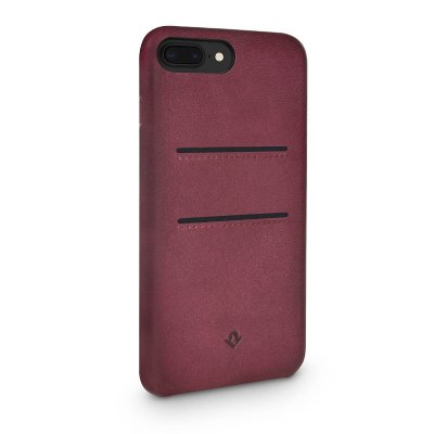 Twelve South Relaxed Leather fodral med fickor för iPhone 7 Plus & iPhone 8 Plus