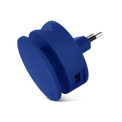Usbepower AERO MINI ???Dubbel USB laddare med stativ för iPhone och kabelspole