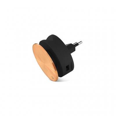 Usbepower AERO MINI Luxury Editon ???Dubbel USB laddare med stativ för iPhone och kabelspole