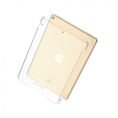 Pipetto iPad 9,7-tums 2017/2018 Clear Back Cover