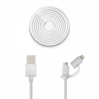 Usbepower DUO - 1.2m Micro-USB and Lightning in the same cable!