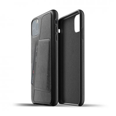 Mujjo Full Leather Wallet Case för iPhone 11 Pro Max