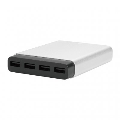 Just Mobile AluCharge multi-port USB charger - världens tunnaste USB-laddare
