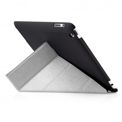 Pipetto iPad 2/3/4 Origami Case - Black
