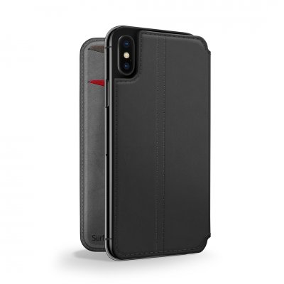 Twelve South SurfacePad för iPhone X/XS – Rakbladstunt nappaläder