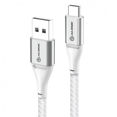 ALOGIC Ultra USB-A to USB-C cable 3A/480Mbps - Silver