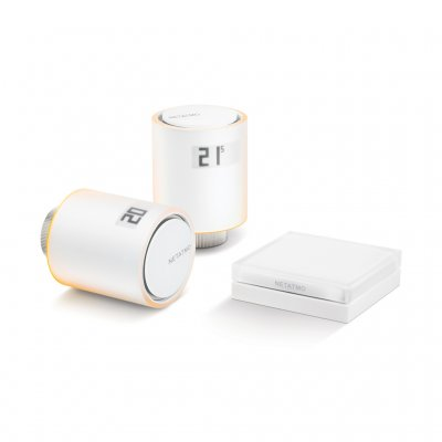 Netatmo Smart Radiator Valves (Starter pack) - Save 37% on your energy consumption