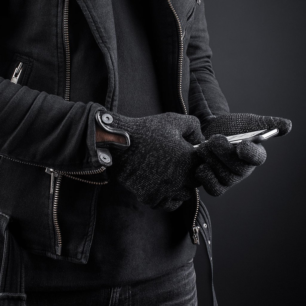 huge selection of eb372 f58be Mujjo Double-Layered Touchscreen Gloves - Extra warm touch gloves!