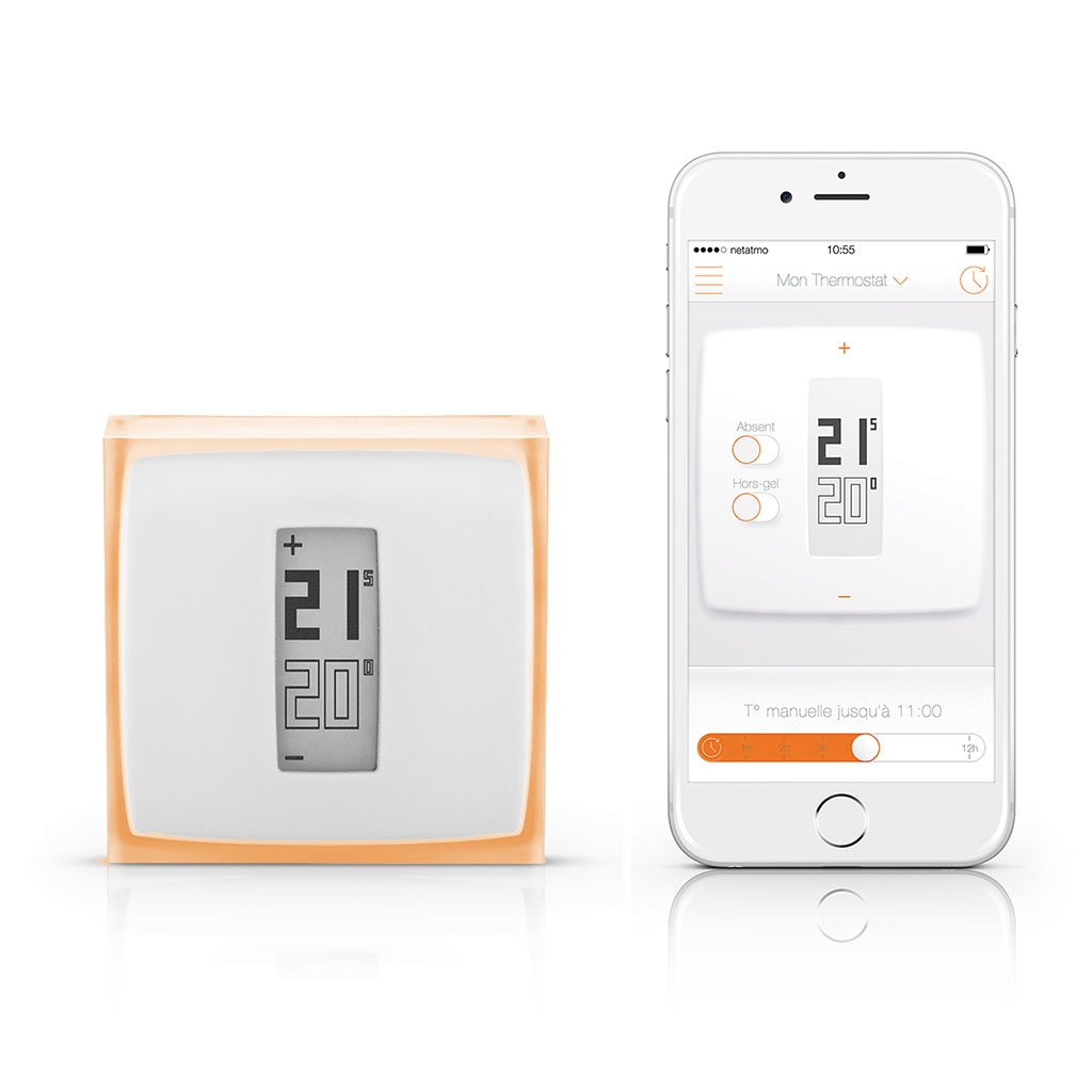 netatmo thermostat v2 thermostat for the smart home apple homekit approved smart home. Black Bedroom Furniture Sets. Home Design Ideas
